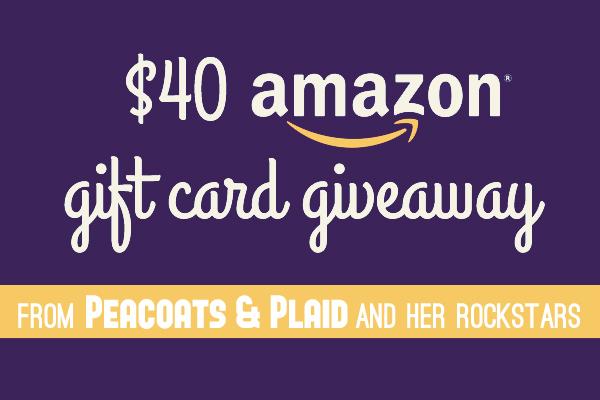 AMAZON GIFT CARD GIVEAWAY!
