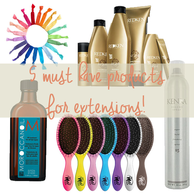 5 of the best products for hair extensions dani marie blog 5 of the best products for hair extensions by utah beauty blogger dani marie pmusecretfo Images