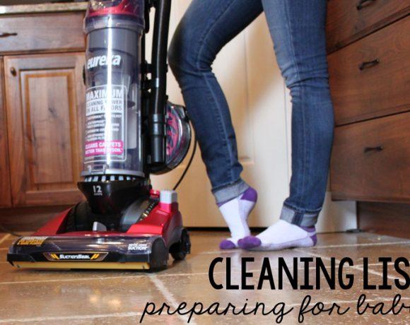 CLEAN HOUSE – PREPARING FOR BABY – FREE PRINTABLE!