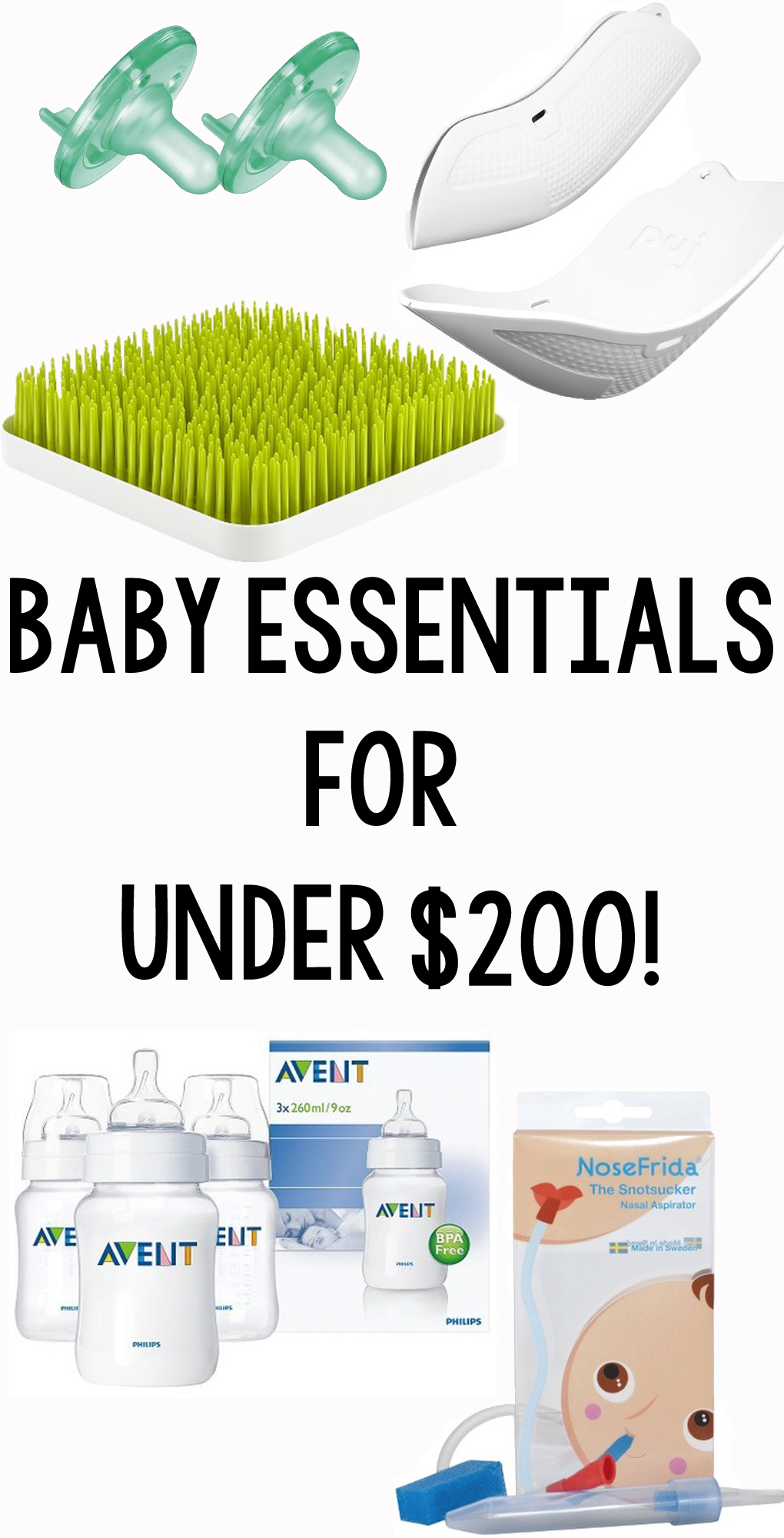 Baby Essentials for Under $200