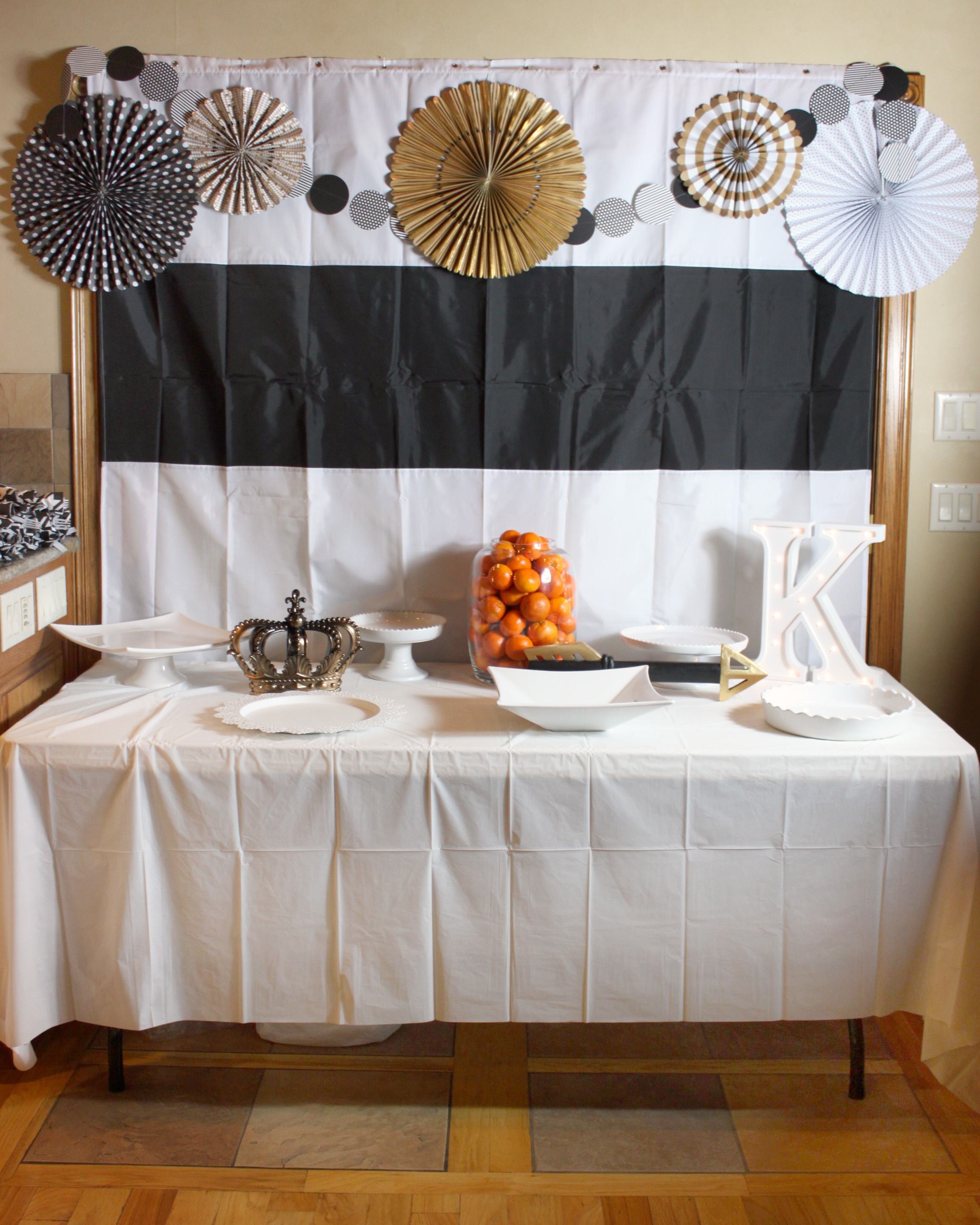 Black White Blessing Decor