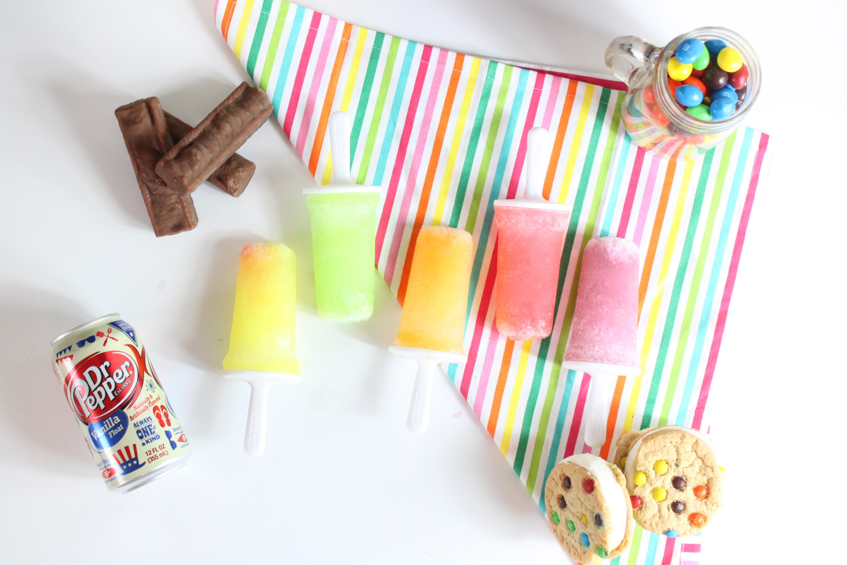 Skittles Popsicles 5