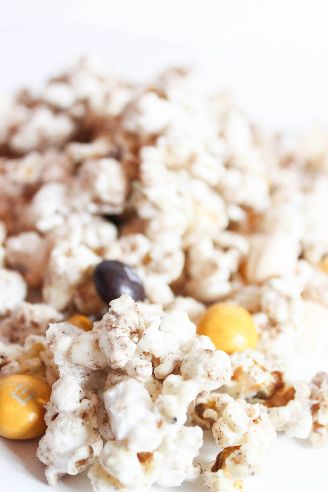 Pumpkin Cinnamon Cream Cheese Popcorn-9
