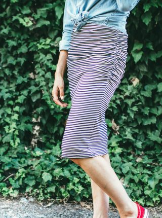 Dani Marie Blog Stripe Skirt