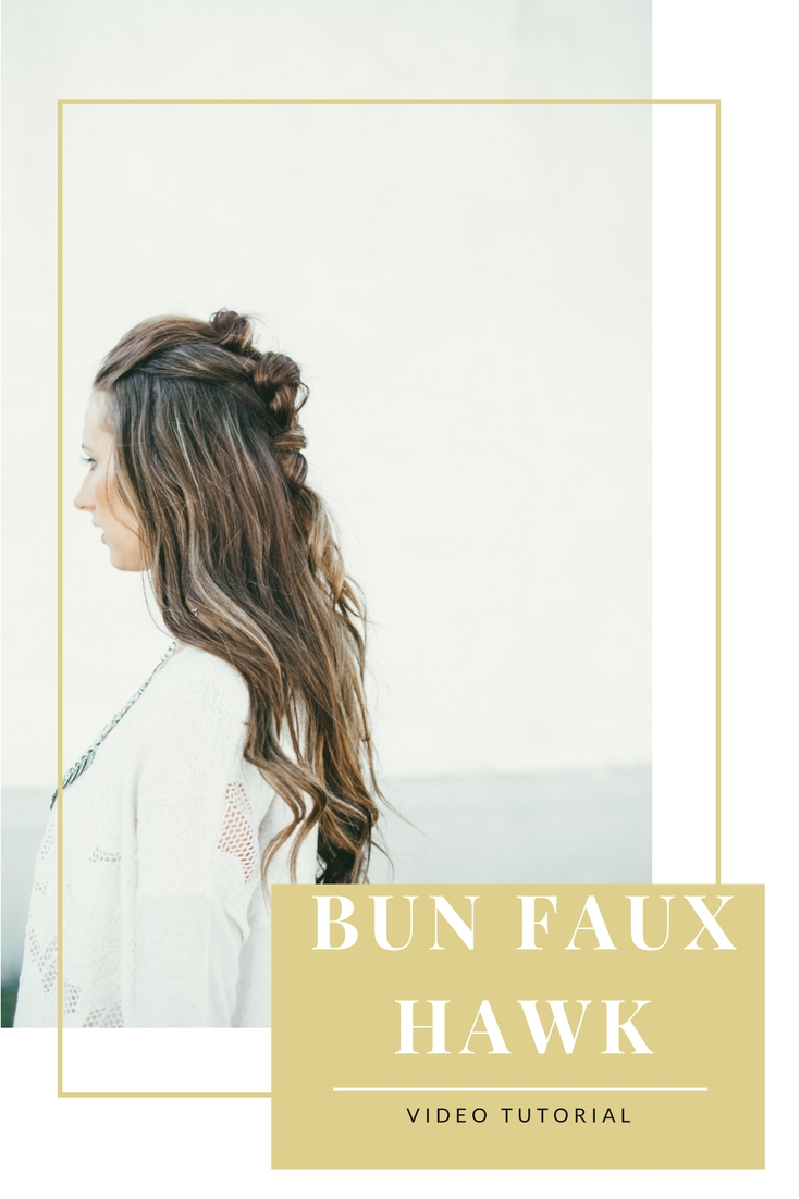 bun-faux-hawk-tutorial