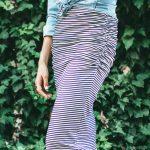 Dani Marie Blog Stripe Skirt