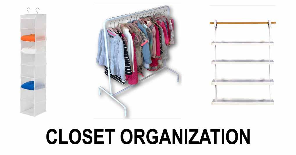 Wayfair Closet Organization