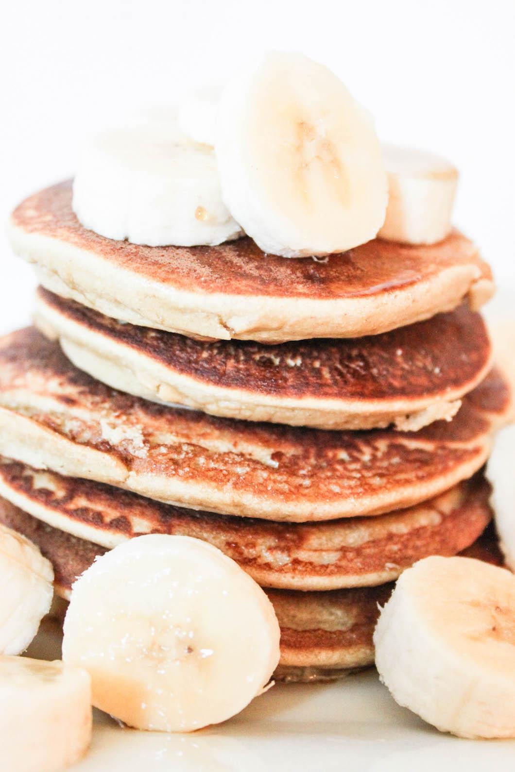 Coconut Banana Pancakes-15