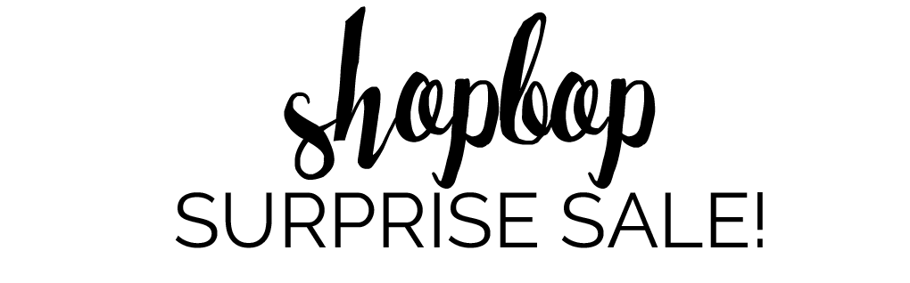 Shopbop Surprise Sale May 2016