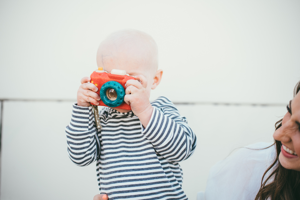 baby wooden camera