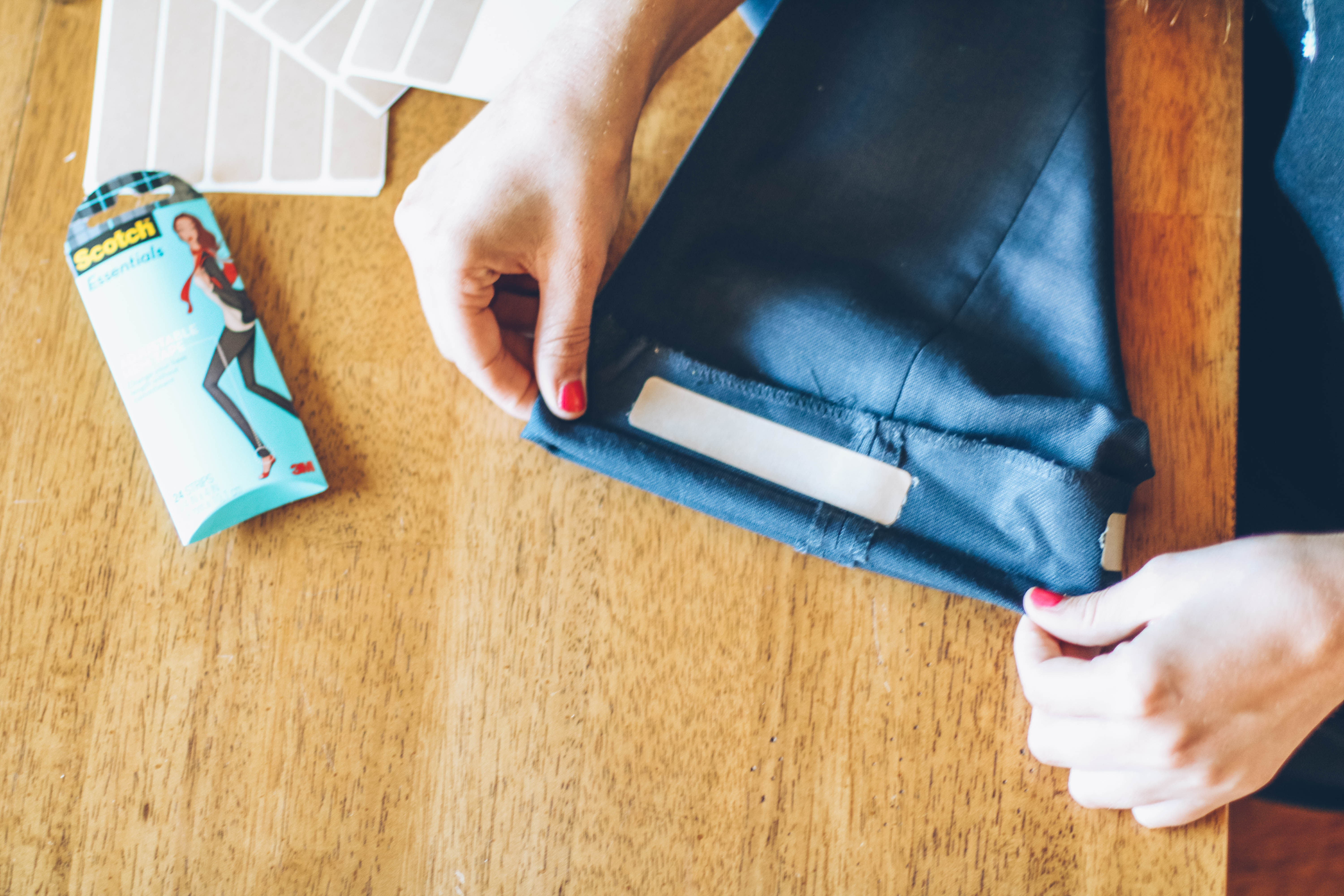 How To Mend A Seam With No Sewing! by popular Utah blogger Dani Marie