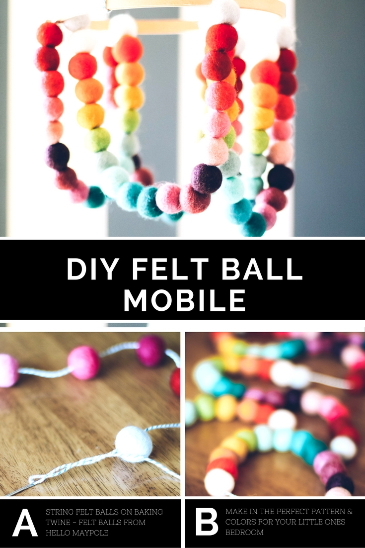 diy-felt-ball-mobile