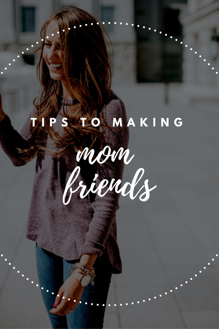 Tips to Making Mom Friends