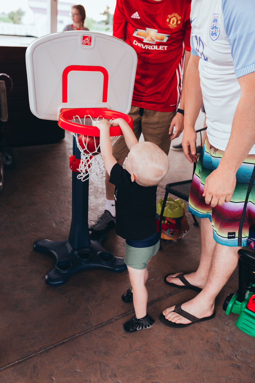 KINGS HAPPY UN-BIRTHDAY - KIDS BALL PARTY by Utah blogger Dani Marie - Kids Ball Birthday Party