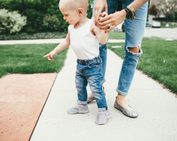 FALL FLATS FOR MOM & TODDLER