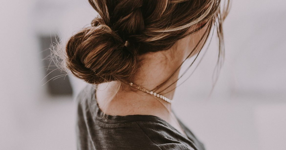 French braid bun tutorials holiday hairstyles dani marie ccuart Images