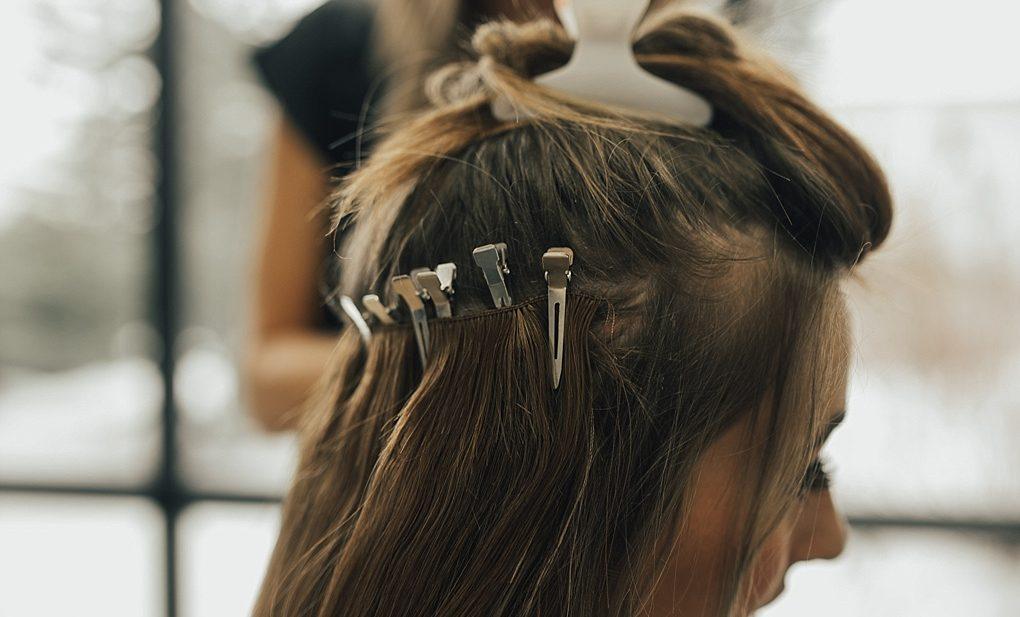 Beaded hair extensions installation dani marie blog pmusecretfo Images