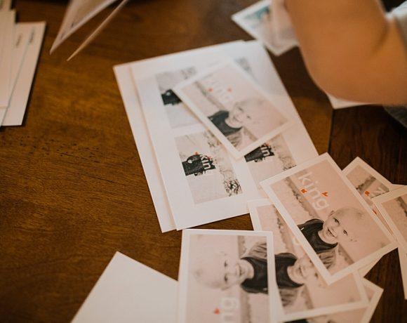 SENDING VALENTINES CARDS.