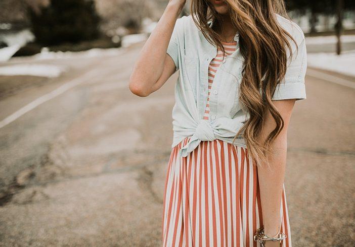 Spring Stripes.