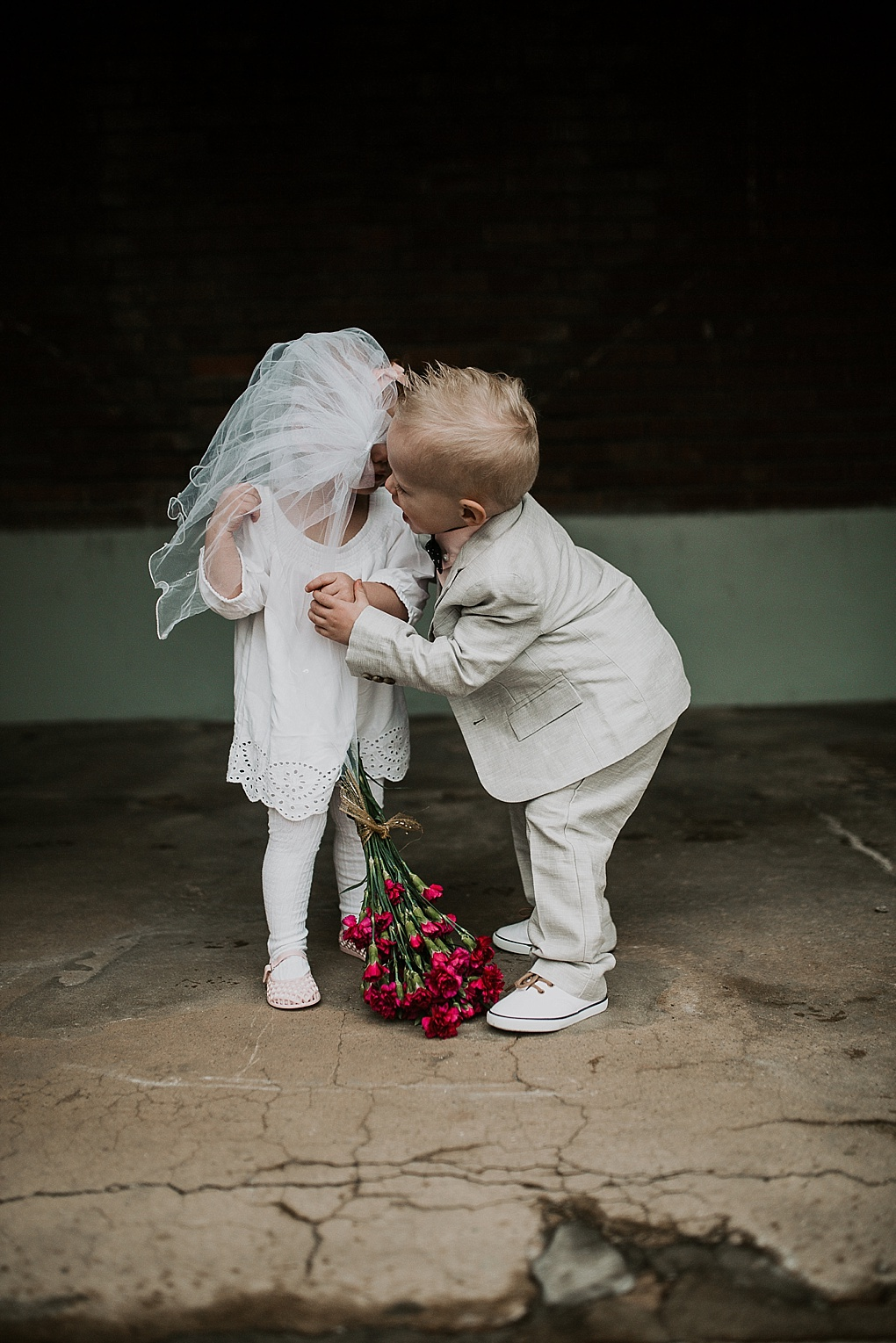 little baby boy and baby girl wedding pictures little boy in janie and jack suit