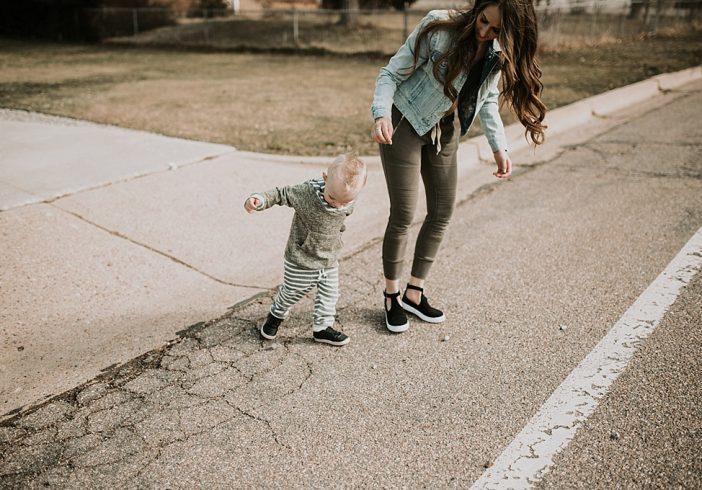 Mama & Little Matching Joggers.