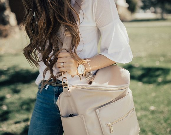 White + Ruffled
