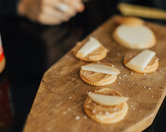 PB + Sea Salt + Apple Crackers