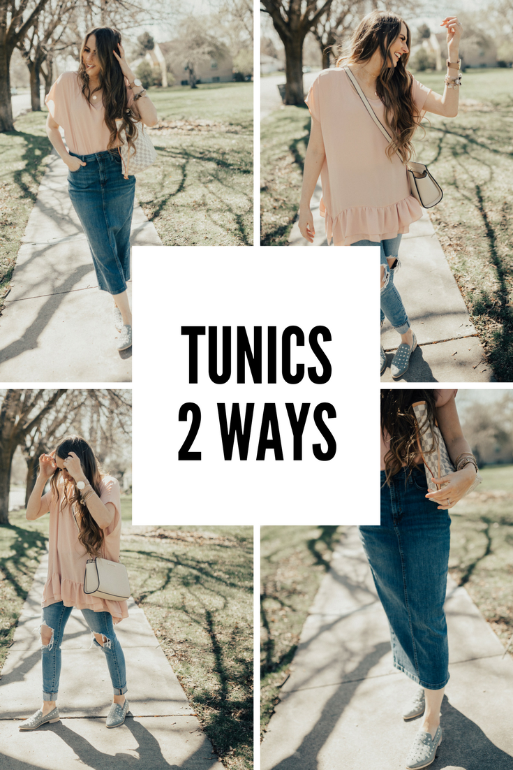 How to tie a tunic
