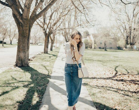 How To Dress Up & Dress Down a Basic Stripe Tee
