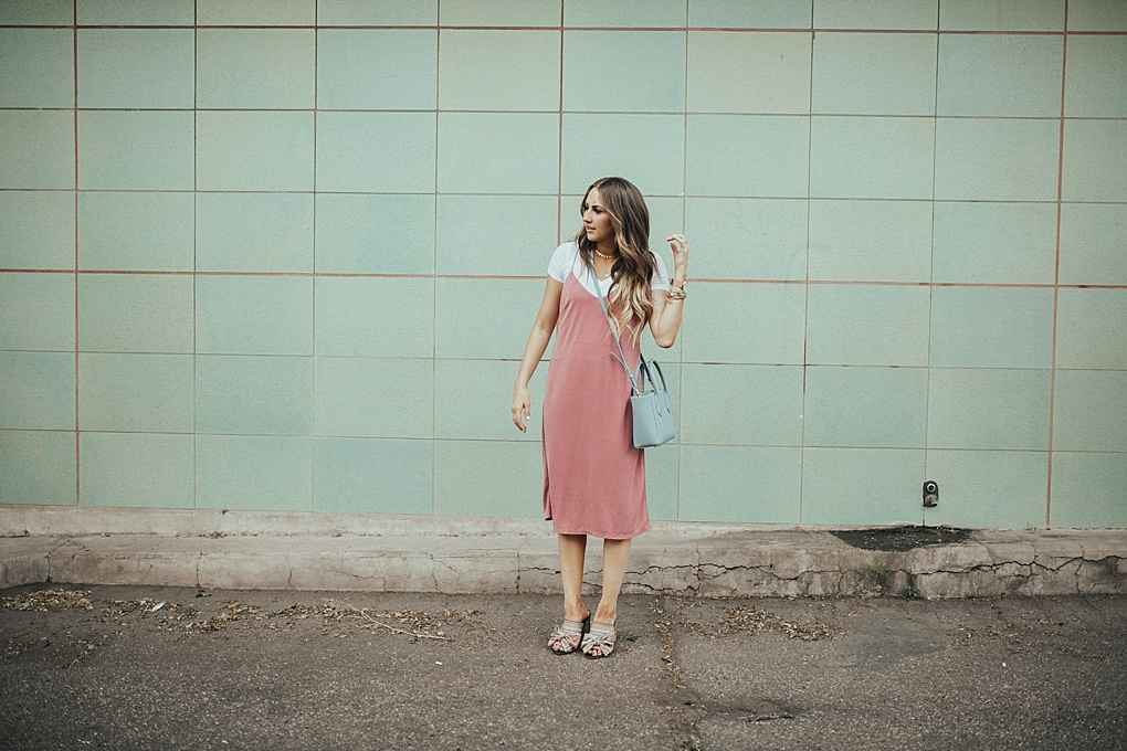 That Pink Slip Dress by Utah fashion blogger Dani Marie