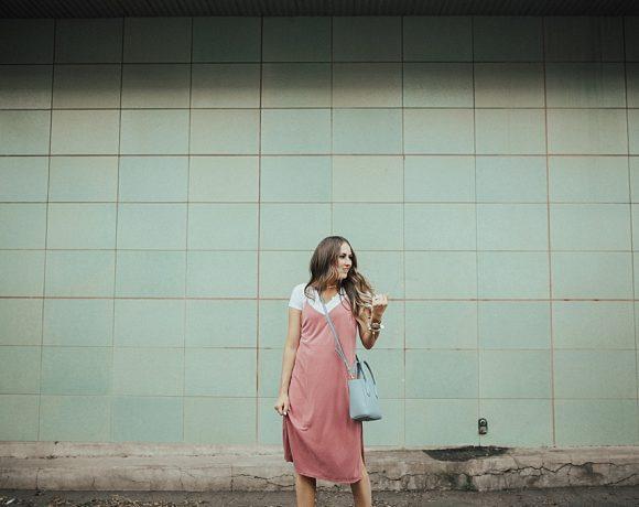 That Pink Slip Dress.