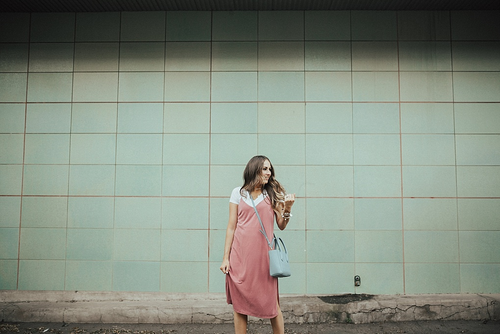 That Pink Slip Dress by Utah fashion blogger Dani Marie