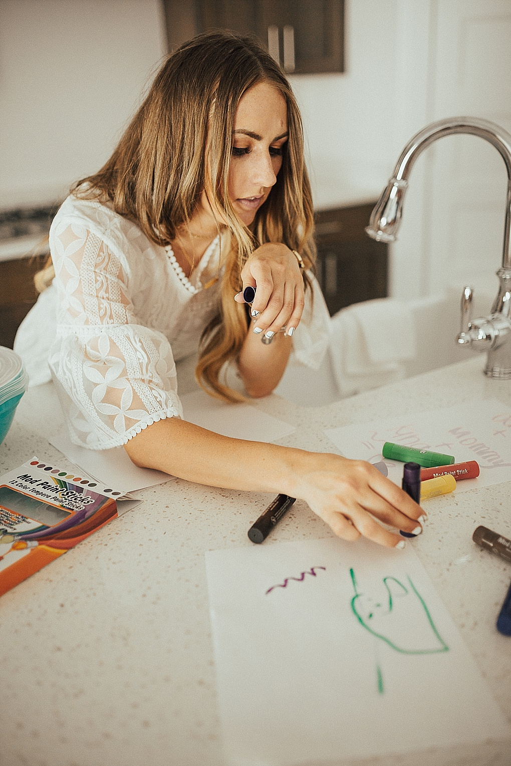 Using Paint Sticks & My Efforts to Trying to Say Yes More. by Utah lifestyle blogger Dani Marie