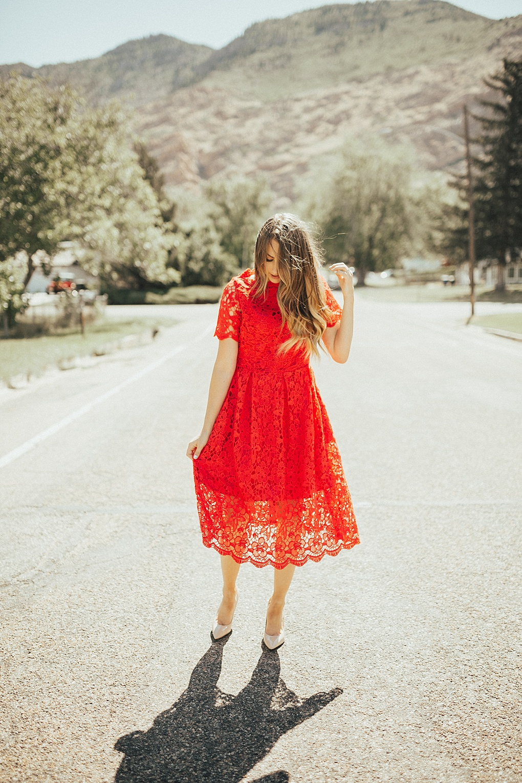 5 Church Outfits for Christmas Sunday by Utah fashion blogger Dani Marie
