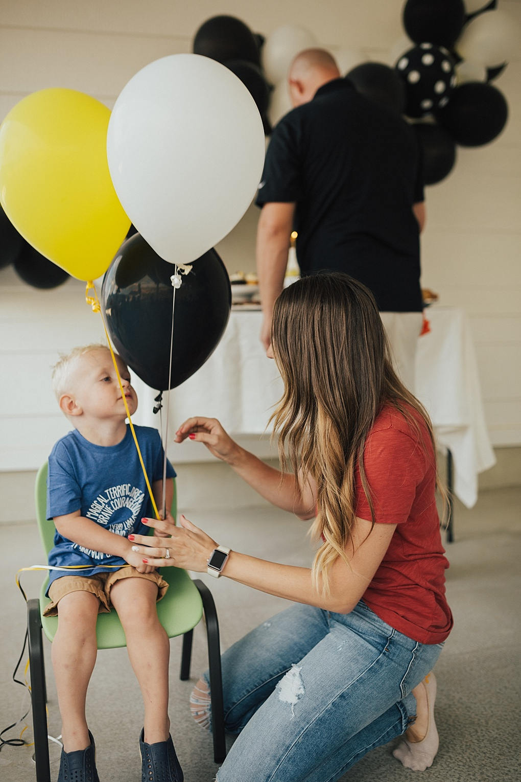 A Modern Tractor Birthday Party by Utah mom blogger Dani Marie