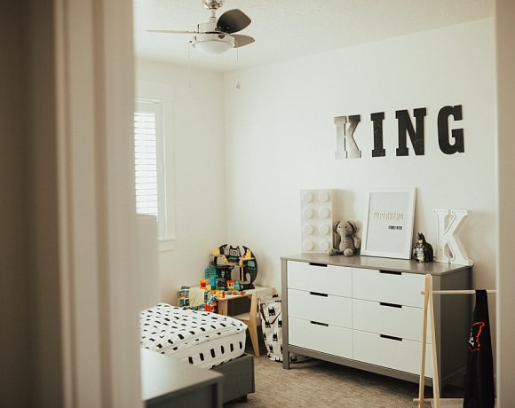 King's Modern Superhero Bedroom