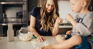 the perfect microwave home made popcorn recipe