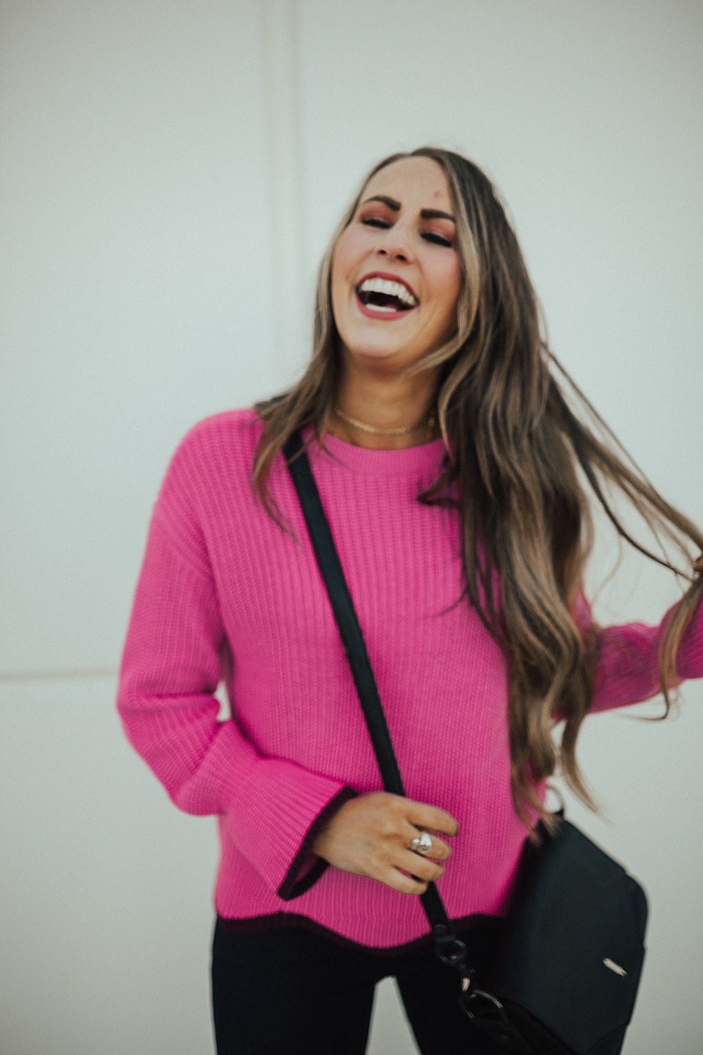 Wearing Colorful Sweaters Through Fall & Winter by Utah fashion blogger Dani Marie