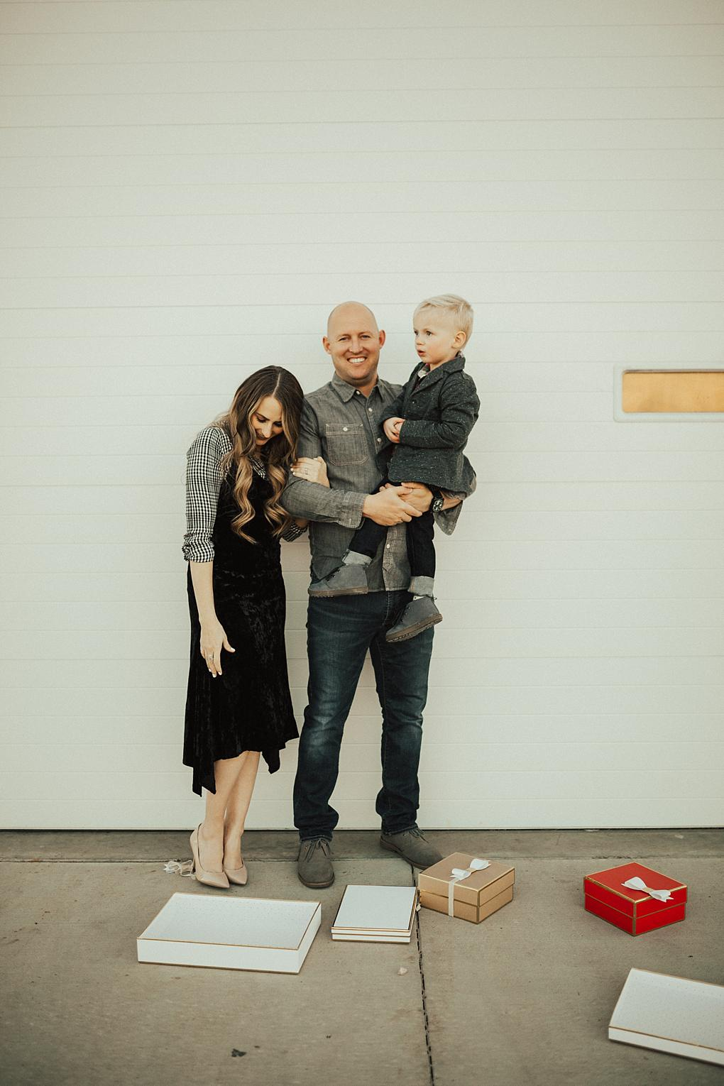 Making the Holidays Family Centered & Our Family Holiday Outfits by Utah fashion blogger Dani Marie