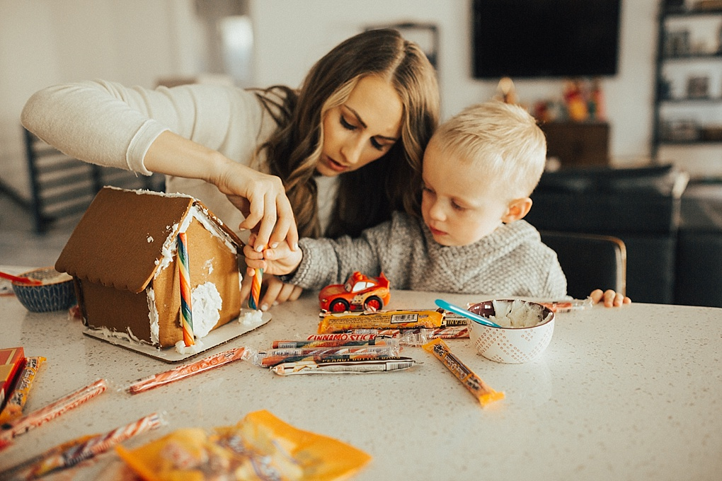 Gingerbread Houses & Holiday Traditions by Utah lifestyle blogger Dani Marie