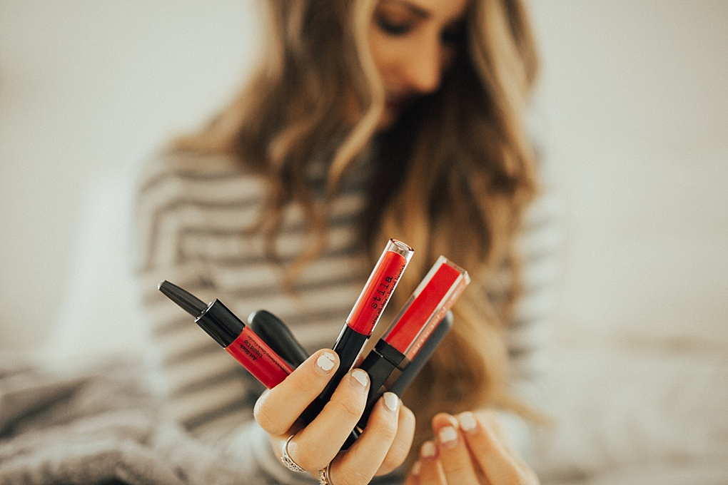 The Best Holiday Red Lipsticks by Utah style blogger Dani Marie