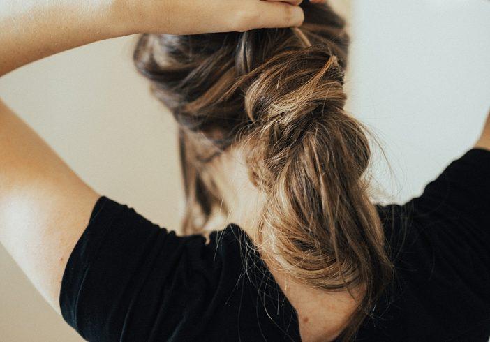Wrap Around Messy Bun Hair Tutorial