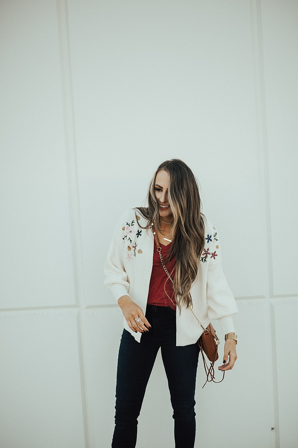The Embroidered Cardigan Your Grandma Has & You Need Too by popular Utah style blogger Dani Marie