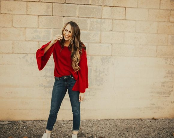 Bell Sleeved Sweaters & How to Wear Them