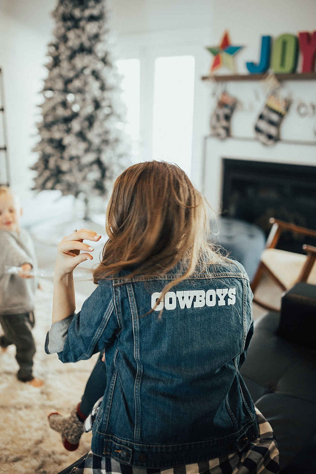 Getting Pro-Bowl Ready with my Dallas Cowboys Jacket by popular Utah style blogger Dani Marie
