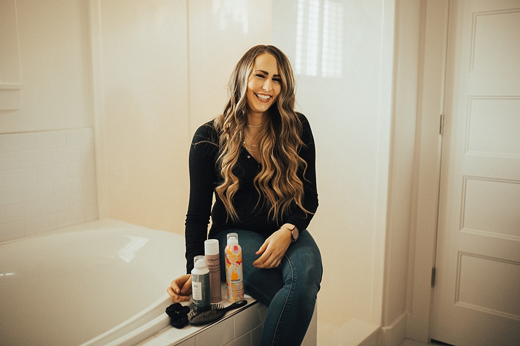 Tips & Tricks to NOT Washing Your Hair Daily by popular Utah style blogger Dani Marie