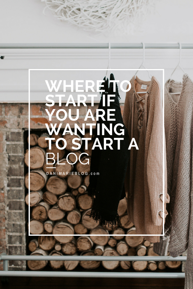 Where the Heck to Even Start Blogging by popular Utah style blogger Dani Marie