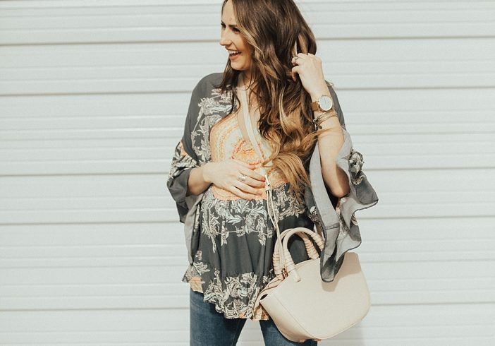 How to Style a Flowy Top (Without Being Frumpy)