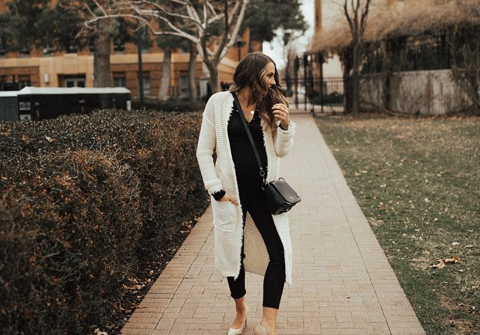 How to Dress Up A Duster Cardigan