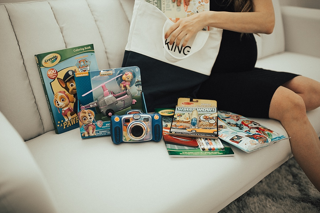 SAVE this post now for ideas on what to pack in a big brother bag!